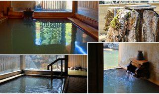 創業大正六年 老舗「大丸旅館」のお風呂