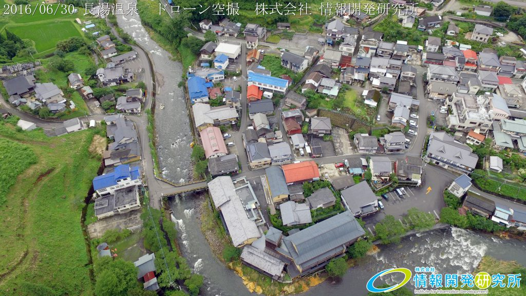 長湯温泉 ドローン空撮4K写真 20160630 vol.5