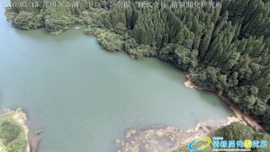 芹川ダム湖 ドローン空撮4K写真 20160715 vol.1 Aerial in drone the Serikawa dam lake. 4K photography