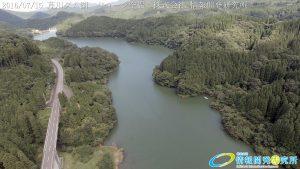 芹川ダム湖 ドローン空撮4K写真 20160715 vol.3 Aerial in drone the Serikawa dam lake. 4K photography