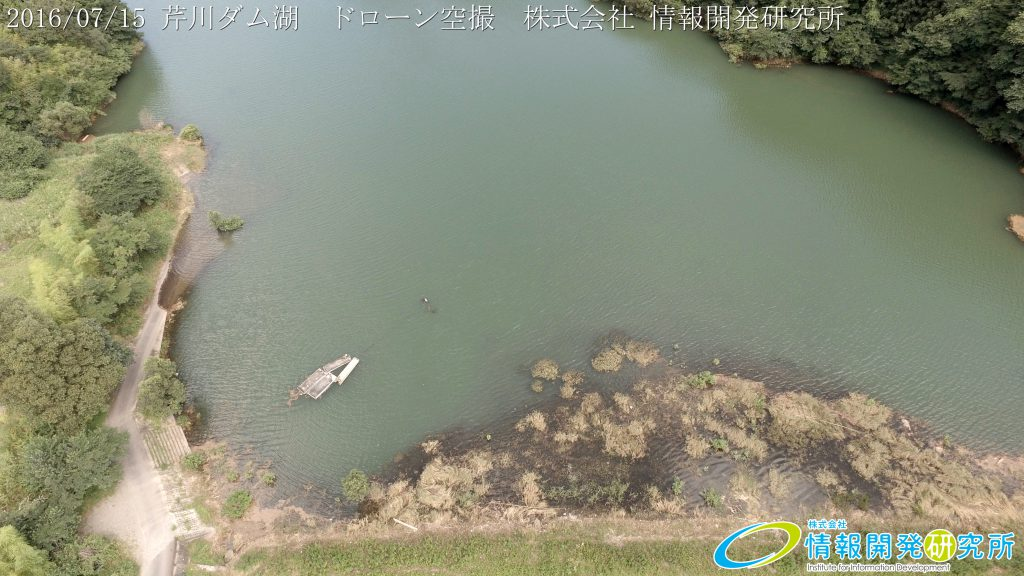 芹川ダム湖 ドローン空撮4K写真 20160715 vol.5Aerial in drone the Serikawa dam lake. 4K photography