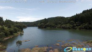 芹川ダム湖 ドローン空撮4K写真 20160715 vol.9Aerial in drone the Serikawa dam lake. 4K photography