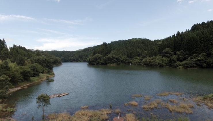 芹川ダム湖 ドローン空撮4K写真 20160715 vol.9