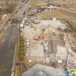 長湯温泉 直入荘解体工事 ドローン空撮4K写真 20160219 vol.1 Aerial in drone the Naoirisou