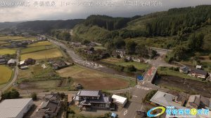 長湯温泉 ドローン空撮4K写真 20160915 vol.4 Aerial in drone the Nagayu onsen
