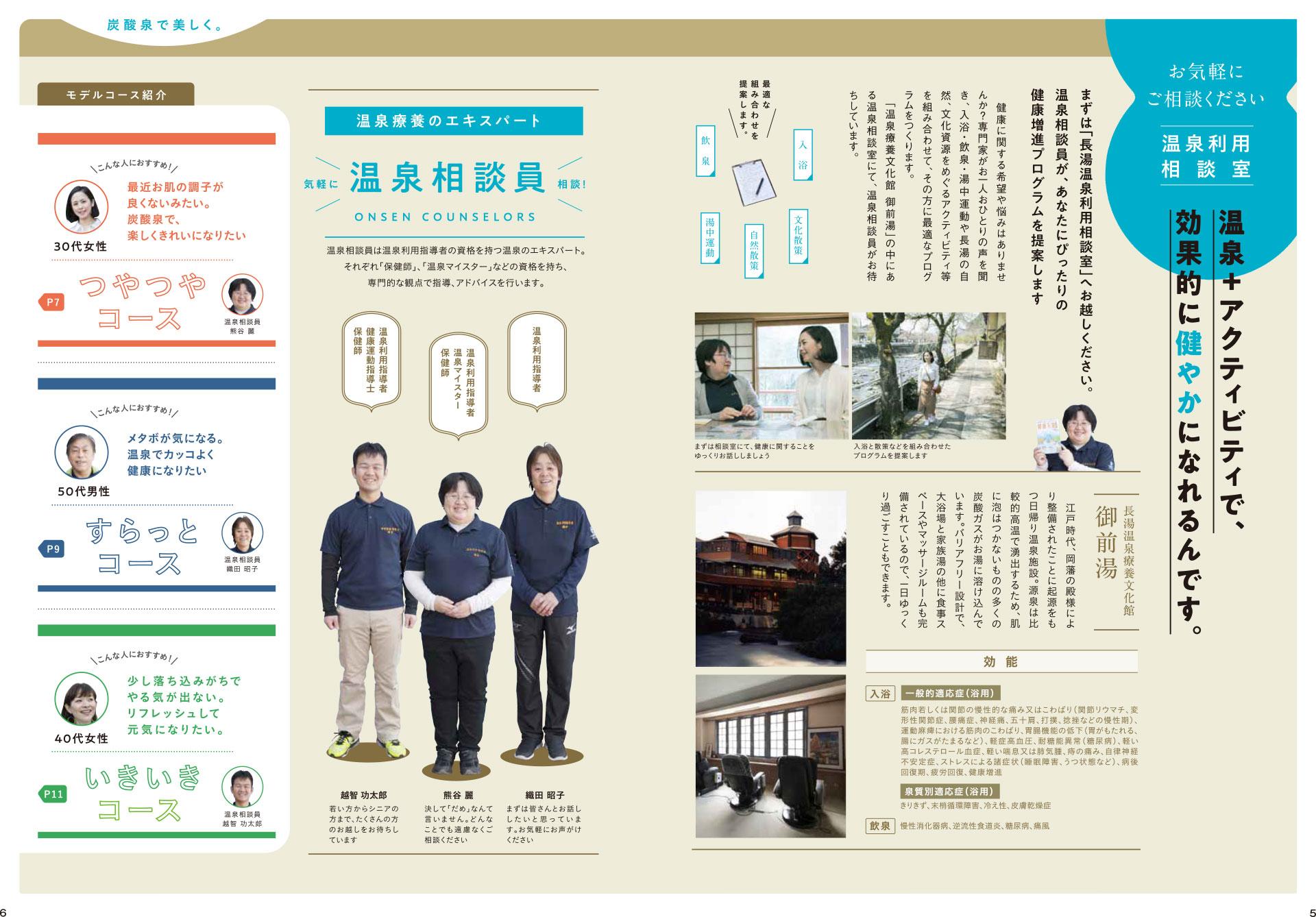 長湯温泉炭酸泉健康増進プログラム 詳細 パンフレット4
