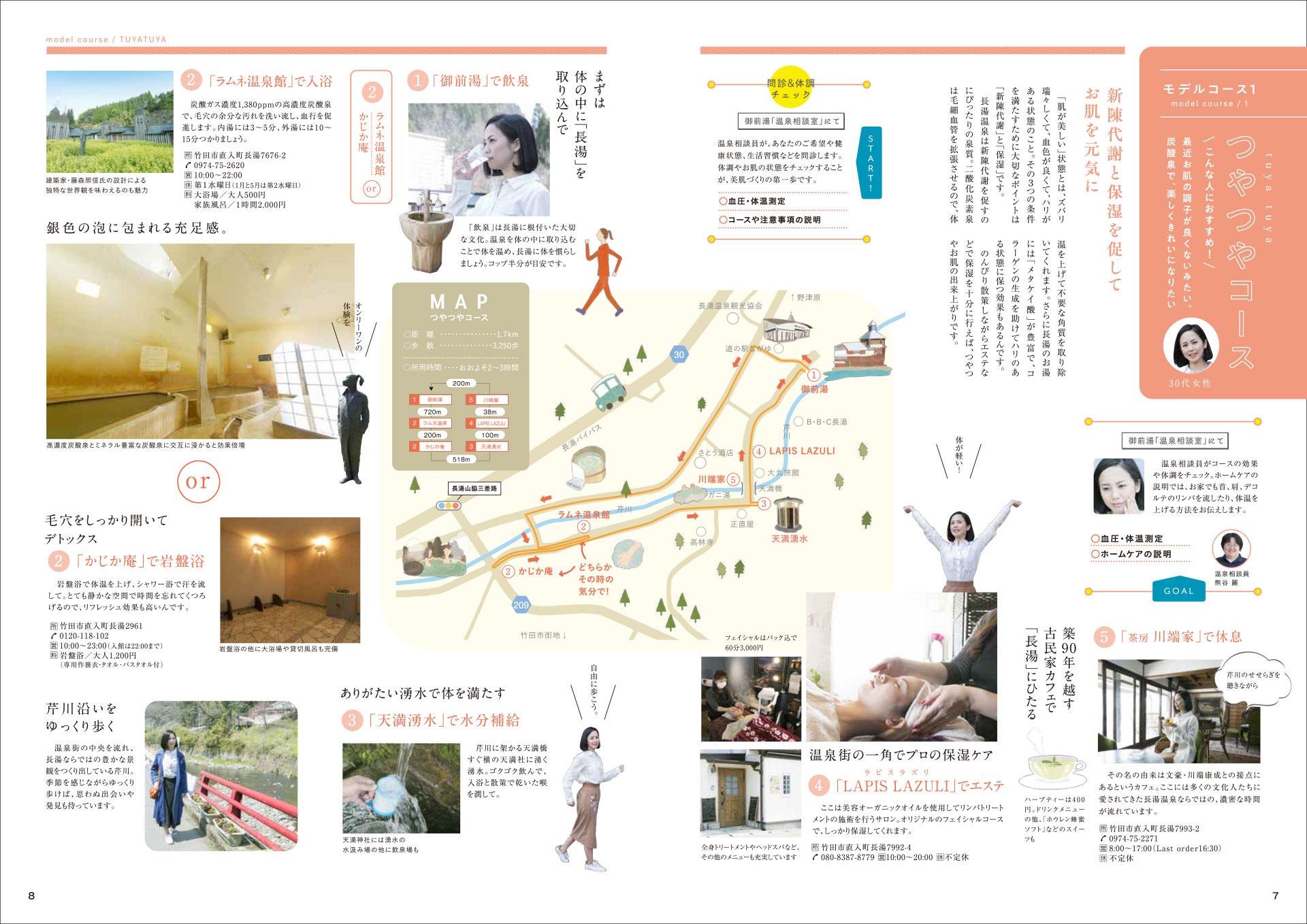 長湯温泉炭酸泉健康増進プログラム 詳細 パンフレット5